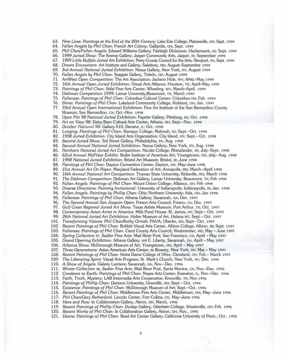 Phillip Chan's Resume, pg 3